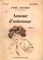 Amour D'Automne. Collection : Select Collection N° 254 - Couverture - Format classique
