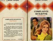 Complainte Sicilienne - The Unwilling Bride - Couverture - Format classique