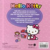 HELLO KITTY ; Hello Kitty ; cherche et trouve - 4ème de couverture - Format classique
