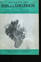 Bulletin Des Amis De La Chiropractie N° 48. - Couverture - Format classique