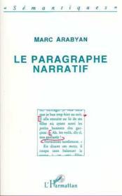 Le paragraphe narratif - Couverture - Format classique