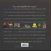 Egypte Album - 4ème de couverture - Format classique
