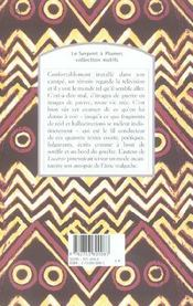 Rêves sous le linceul - 4ème de couverture - Format classique
