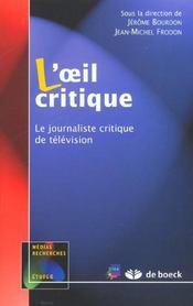 L'oeil critique - Intérieur - Format classique