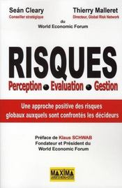 Risques ; perception, évaluation, gestion - Intérieur - Format classique