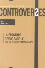La fracture démocratique : vers une démocratie post-libérale ? - Intérieur - Format classique