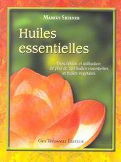 Huiles Essentielles - Intérieur - Format classique