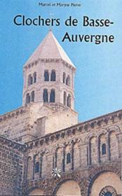 Clochers de Basse-Auvergne - Couverture - Format classique