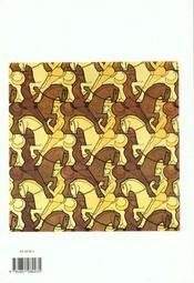 Le Monde De M.C. Escher - 4ème de couverture - Format classique