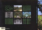 Treillages De Jardin Du Xive Au Xxe Siecle - 4ème de couverture - Format classique