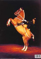 Splendeurs du cheval - 4ème de couverture - Format classique