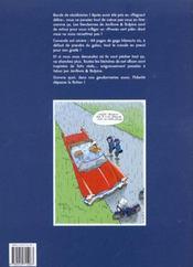 Les gendarmes t.2; procès vert pale ! - 4ème de couverture - Format classique