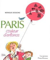 Paris Couleur D'Enfance - Couverture - Format classique