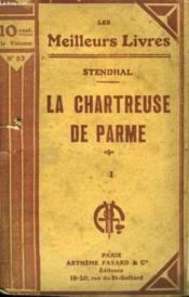 La Chartreuse De Parme. Tome 1. Collection : Les Meilleurs Livres N° 93. - Couverture - Format classique