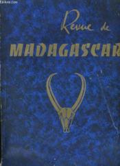 Revue De Madagascar N° 12. - Couverture - Format classique