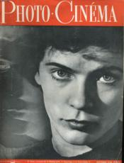 PHOTO CINEMA N°588 - 30e ANNEE - Couverture - Format classique