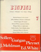 Infini Ete 1984  - Collectif Gallimard