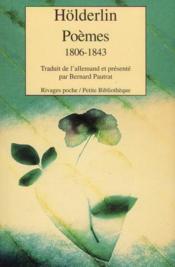 Poèmes, 1806-1843 - Couverture - Format classique
