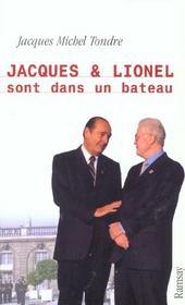 Jacques et lionel sont dans un bateau - Intérieur - Format classique