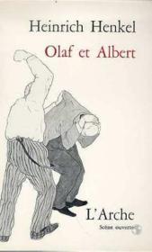 Olaf Et Albert - Couverture - Format classique