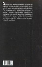 Proust Contre La Decheance - 4ème de couverture - Format classique