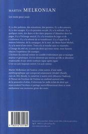 Les Mots Pour Jouir - 4ème de couverture - Format classique