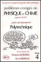 Problemes Corriges De Physique Chimie Polytechnique Tome 4 1988-1990 - Couverture - Format classique