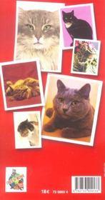 L'officiel du chat - 4ème de couverture - Format classique