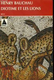 Diotime et les lions - Couverture - Format classique