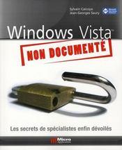 Windows vista non documenté - Intérieur - Format classique