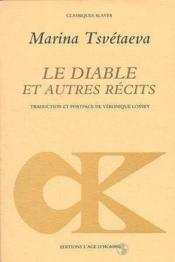Diable Et Autres Recits (Le) - Couverture - Format classique