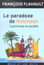Le Paradoxe De Robinson - Intérieur - Format classique