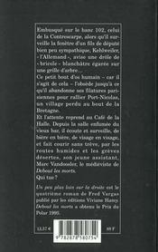 Un Peu Plus Loin Sur La Droite - 4ème de couverture - Format classique