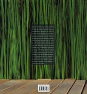 L'équilibre des sens ; le livre des spas - 4ème de couverture - Format classique