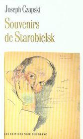 Souvenirs De Starobielsk - Intérieur - Format classique