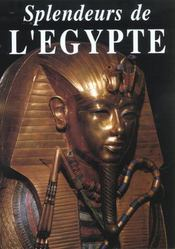 Splendeurs d'egypte - Intérieur - Format classique