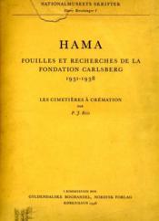 Hama : fouilles et recherches, 1931-1938, II/3 : les cimetières à crémation. - Couverture - Format classique