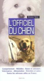 L'officiel du chien - Couverture - Format classique