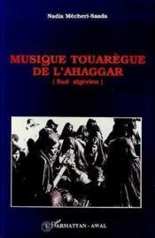 Musique Touaregue De L'Ahaggar - Couverture - Format classique