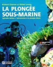 La Plongee Sous Marine - Couverture - Format classique