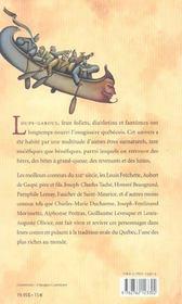 Meilleurs Contes Fantastiques - 4ème de couverture - Format classique