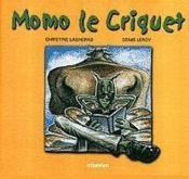 Momo le criquet - Couverture - Format classique