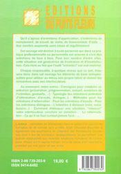 Reussir la conduite d'un entretien. preparation, methodes etexemples.entretiens d'information, d'aid - 4ème de couverture - Format classique