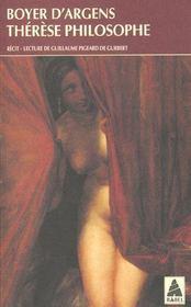 Therese Philosophe - Intérieur - Format classique