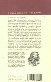 Therese Philosophe - 4ème de couverture - Format classique