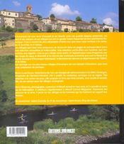 Aed les plus beaux villages d'auvergne - 4ème de couverture - Format classique