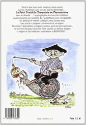 Le petit traité du charentais t.1 ; en charentaises - 4ème de couverture - Format classique