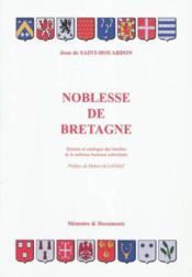 Noblesse de bretagne - Couverture - Format classique