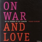 De La Guerre Et De L'Amour - Couverture - Format classique