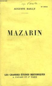 Mazarin. - Couverture - Format classique